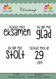 Stempler / Søde citater / Dixi Craft
