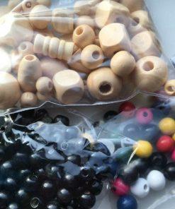 Træ-perler