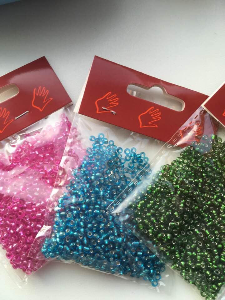 Glas-perler