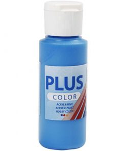 Plus color hobbymaling, primary blue, 60 ml