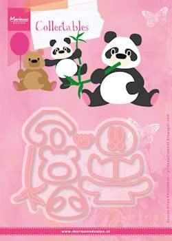 Dies / Nuttet panda / Marianne Design