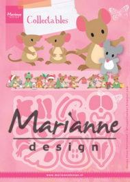 Dies / Muse-familie / Marianne Design