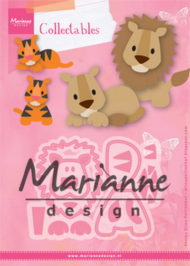 Dies / Løver og tigere / Marianne Design