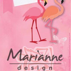 Dies / Skøn flamingo / Marianne Design