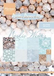 Papirblok / Nordic winter / Marianne Design