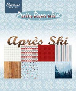 Blok A5 / Apres ski / Marianne Design