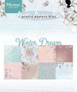 Blok A5 / Winter dream / Marianne Design