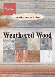 Papirblok / Weathered wood / Marianne Design