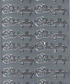 Stickers / Sølvbryllup / Sølv