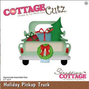 Dies / Holiday pickup truck / Cottage Cutz