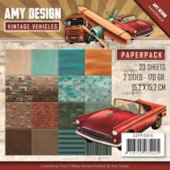 Papirblok fra Amy Design / 15,2 x 15,2 cm