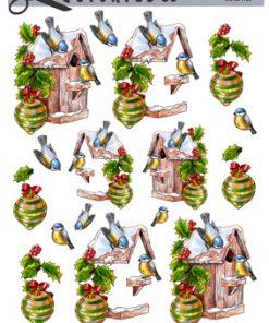 Jul / 3D ark små fugle ved fuglehus / Quickies