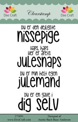 jule citater Stempel / Jule citater / Dixi craft   Dalmose Hobby jule citater