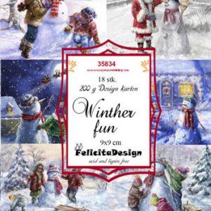 Toppers / Vinter sjov / Felicita design