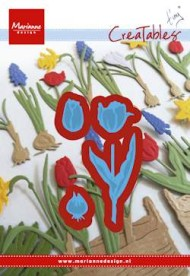 Dies / Tulipaner med løg / Marianne design