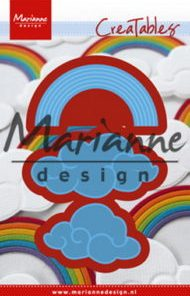 Dies / Regnbue og skyer / Marianne Design