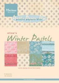 Kartonblok / winter pastels / Marianne design