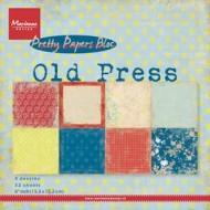 Kartonblok / Old press / 15 x 15 cm