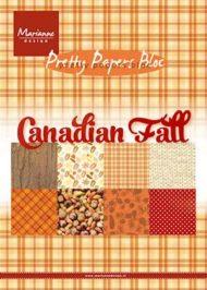 Kartonblok / Canadian fall / Marianne design