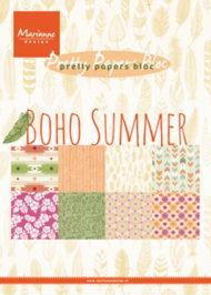 Kartonblok / Boho summer / Marianne Design
