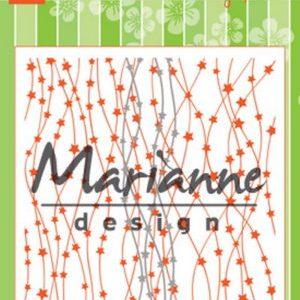 Embossingfolder & dies / Stjerner / Marianne Design
