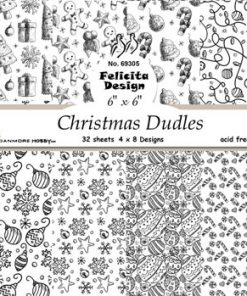Karton / Jule kruseduller / Felicita design