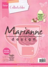 Dies / Kakao,kager og stempler / Marianne Design