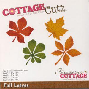 Dies / Efterårs-blade / Cottage cutz