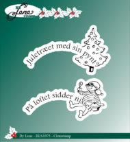 Stempel / dansk tekst / By Lene stempler