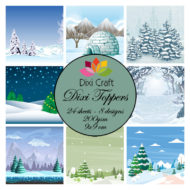 Toppers / Vinter / Dixi craft