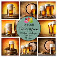 Toppers / Ølglas / Dixi craft