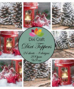Toppers / Jule-billeder / Dixi craft