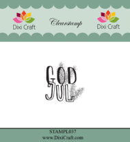 Stempel / God jul / Clear stamp