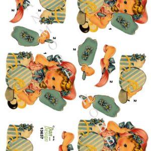 Børn / Hatteprøvning Nostalgi / Dan-Design