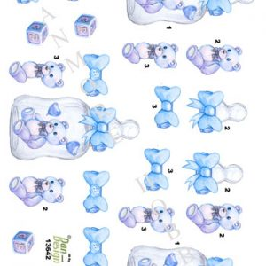 Børn / Baby, dreng, bamse / Dan-Design