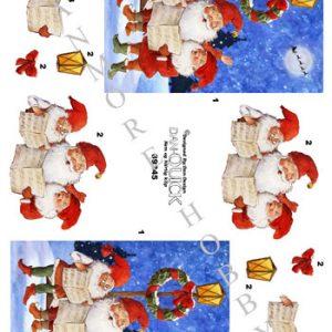 Jul / 3d ark med julekor / Dan-Quick