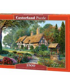 Puzzlespil / Bindingsværk i skoven / Castor