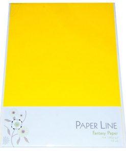 Karton A4 / I farven sol gul