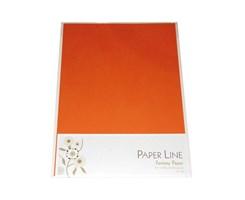 Karton A4 / I farven mørke-orange