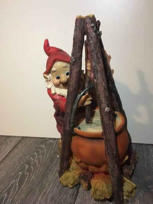 skovmand, laver mad, poly pobra 27 cm