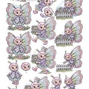 Børn / Sommerfugl-pige / Yvonne Creations