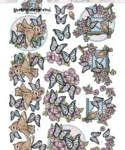 Dyr / Fugle og sommerfugle / Yvonne Creations