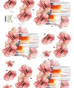 Blomster / Blomst med lys / Dan-Design