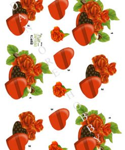 Blomster / Chokoladeæske / Dan-Design