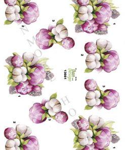 Blomster / Med blomst / Dan-Design