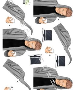 Blandet / Dreng med mobil / Dan-Design