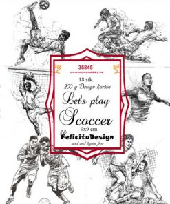 Toppers / Let's play soccer / Felicita design