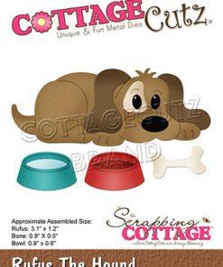 Dies / Hund med madskål / Cottage cutz