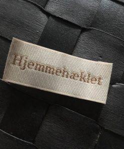 Labels / Hjemmehæklet / 2 x 5 cm