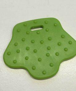 Bidering, fodformede med knopper i lime grøn